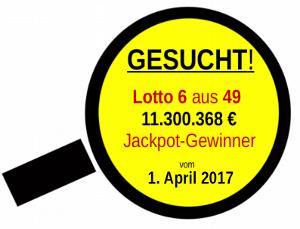 Lupe mit GESUCHT! Aufruf für Jackpot-Gewinner